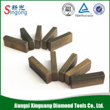 Segmento de diamante para la hoja de sierra circular