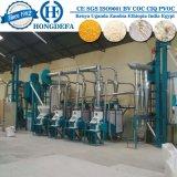 Máquinas brancas super da fábrica de moagem do milho da Mealie-Refeição do pequeno almoço de Nshima