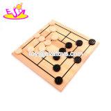 Новые лучшие образовательные игры деревянные поездки пасьянс мрамора для детей W11A076
