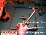 Tubo de cobre de gás de têmpera mole