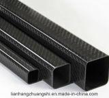 Tubos del cuadrado de la fibra del carbón del alto peso