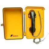 Teléfono rugoso del teléfono SOS del teléfono Autodial impermeable anti de la corrosión
