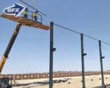 Los materiales de construcción baratos de la construcción de China diseñan el almacén prefabricado de la estructura de acero