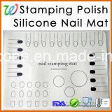 Stuoia di arte del chiodo del silicone del prodotto degli accessori del chiodo del manicure