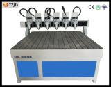 Cabeza múltiple CNC máquina de grabado grabado en madera