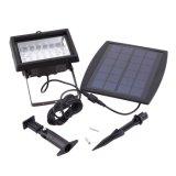 A potência solar IP65 do projector de 28 diodos emissores de luz Waterproof a luz da lâmpada de rua do projector do diodo emissor de luz da luz do jardim do diodo emissor de luz