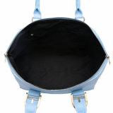 Grande Vigor Lacónico Blue PU Leather Mulheres Saco (MBNO041096)