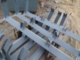 Bâti de galet de Creux en acier