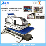 38X38cm Swing Away Tshirt Heat Press Machine com gaveta