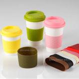 習慣によって個人化される再使用可能なシリコーンのコーヒーカップの袖
