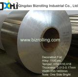 Feuille de décoration d'aluminium 1100