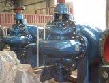 Tipo bomba dos precários de água centrífuga vertical Volute da carcaça rachada da sução dobro de único estágio