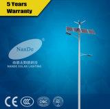 Haute qualité de la rue Solar-Wind hybride de la lumière avec une technologie brevetée
