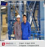 Los materiales de construcción de la partición de la línea de producción de placas de yeso fabricados en China