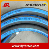 Fabricant de tuyau en caoutchouc tressé/de tube/de pâté en croûte SAE 100 R4 de fil hydraulique