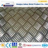 Feuille en aluminium extérieure gravée en relief pour l'étage