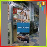 Rotoli su ordinazione della parete di prezzi di fabbrica che appendono bandiera per i regali di promozione