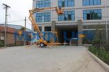 Plataforma montada auge articulada remolcable de la elevación del hombre de la marca de fábrica los 8m de la mañana que se arrastra