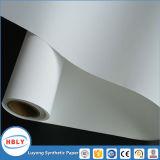 Plástico de la inyección de la resistencia del rasguño en papel sintetizado usado escritura de la etiqueta del molde