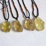 Robin-hochwertiger schöner Zitrinroher Steinkristallkristallanhänger für Fengshui Dekoration