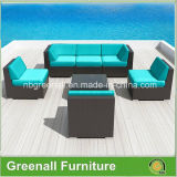 Новое Design 7PCS Rattan Sectional Sofa Set Outdoor Furniture