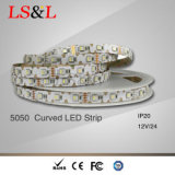 5050 Las tiras de luz LED flexible para cambiar de color RGB CE y RoHS