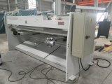 QC11y-6X3200mm 동판 CNC 단두대 깎는 기계