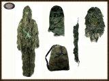 Vestito di Ghilie del tiratore franco del camuffamento di Hotsale per caccia e l'esercito