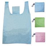Vierge pliable bon marché des sacs de magasinage de supermarchés en polyester