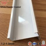 Los perfiles de aluminio recubierto de