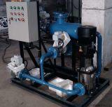 Sistema de limpieza del condensador en línea para la esponja