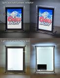 На столе в стену акриловый магнитный блок освещения реклама светодиодный дисплей с батареями