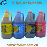 bottiglia di inchiostro solvibile 2L CS100 con il chip per la stampante Swj-320