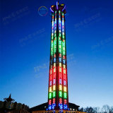 La mayoría de las atracciones más populares atracciones al aire libre rotación de la suspensión de Adultos de la torre de caída de precio de fábrica para la venta