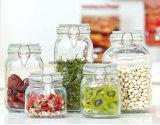 Glasglas, Nahrungsmittelglas, Küchenbedarf-Vorratsbehälter