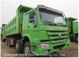 Stato eccellente basso dei pneumatici 40tonstipper dell'autocarro con cassone ribaltabile di prezzi HOWO 12 per l'Africa