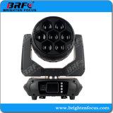 Brillo Super Mini 7*40W de iluminación LED Wash moviendo la cabeza