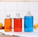 Rundes Getränkeglassaft-Flasche
