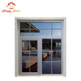 finestra di alluminio/di alluminio di scivolamento di vetro di 5mm del blocco per grafici di esterno