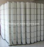 Cartouche de filtre à air plissé pour système d'admission d'air à turbine à gaz
