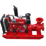 Carcasa de hierro fundido final Motor Diesel de succión de bomba de control de incendios