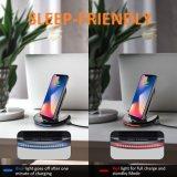 Stand Qi Wireless cargador rápido para el iPhone x Samsung S7 8 6 Adge