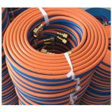 Le BS 3212 classificano il tubo flessibile gemellare della saldatura della R 1/4 '' 50FT per il taglio di gas