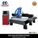 Macchina automatica di falegnameria di CNC del commutatore dell'asse di rotazione di Atc (VCT-1530ASC3)