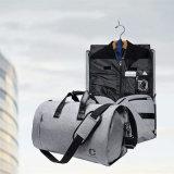 Складные 2 в 1 поездки по пошиву одежды Duffle сумки для мужчин и женщин с отсека зерноочистки