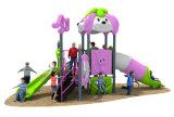De goedkope Apparatuur van de Speelplaats van Jonge geitjes Plastic Openlucht Peuter voor Verkoop (hd-094A)