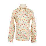 Blouse van de Uniformjas van de Daling van de Koker van de Bovenkanten van vrouwen de Toevallige Overmaatse Lange Losse