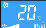 Stn Segment blaue LCD-Bildschirm LCD-Bildschirmanzeige