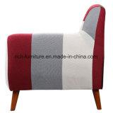 Dos retalhos italianos da entrada do hotel da sala de visitas do projeto da alta qualidade sofá moderno da tela