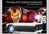 高い定義4:3 /16: 9映画家庭内オフィス携帯用LED 3Dのプロジェクター